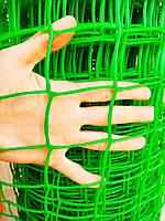 """Забор садовый, пластиковый, ячейка 85х95мм, 1х20м """"Клевер"""" Украина, фото 1"""