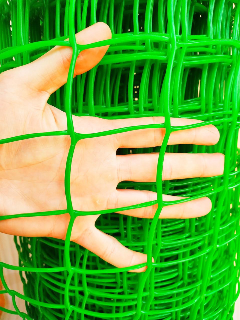 """Забор садовый пластиковый. 85х95мм, 1х20м. """"Клевер"""" (Украина)"""
