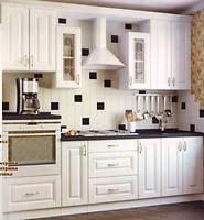 Кухня с гладкими фасадами МДФ 2,3 м Альфа-Мебель