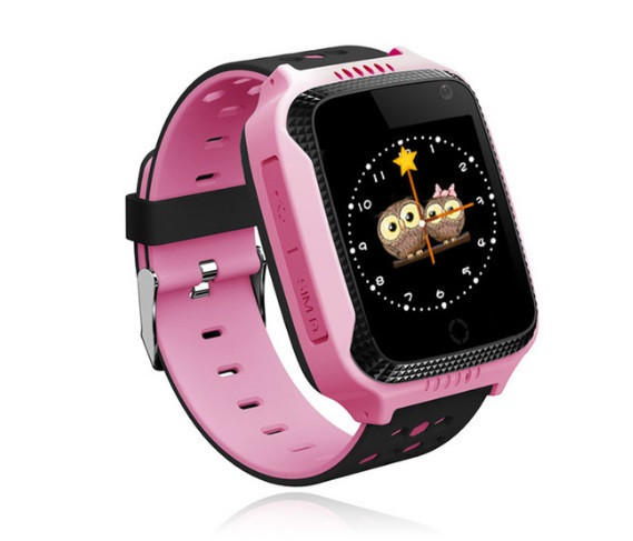 Детские умные часы с GPS Smart watch Q150S Pозовые + защитная пленка