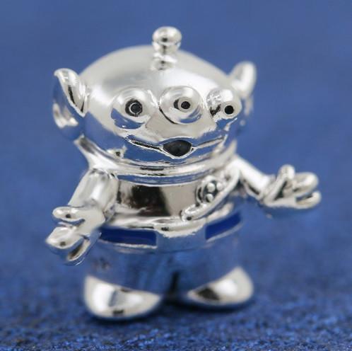 Серебряный шарм Пришелец Disney история игрушек
