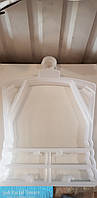 Вешалка-тремпель Рамка детская большая(матовая),в упаковке 10шт.