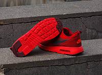 Скидка 35%  Кроссовки черно красные Nike Air Max Tavas Black Red