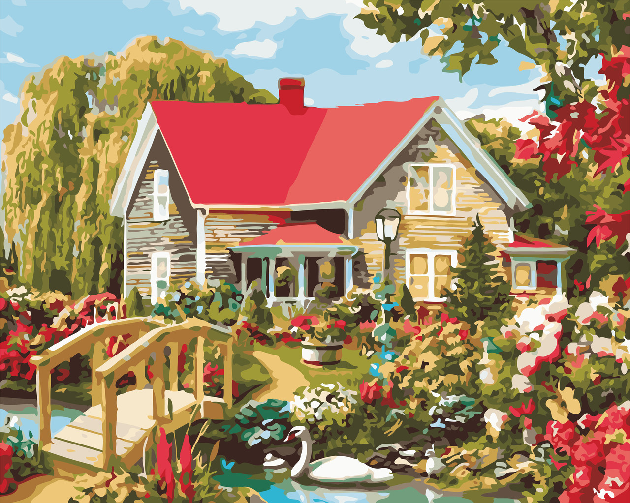 Картина по номерам Дом мечты ArtStory AS0541 40 х 50 см