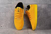 Кроссовки желтые Adidas Pharrell Williams Yellow, фото 1