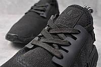 Кроссовки чисто черные Adidas NMD Runner All black Адидас Нмд Раннер, фото 1