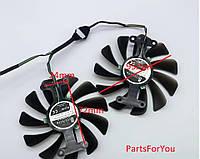 Вентилятор кулер для видеокарты Zotac GeForce GTX1070 GTX1070ti GTX1080 AMP edition GAA8S2U