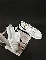 Кроссовки белые Alexander Mcqueen White, фото 1