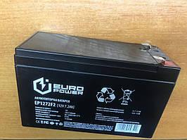 Аккумулятор EUROPOWER AGM 12V7,2Ah EP12-7.2F2