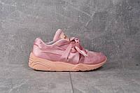 Кроссовки розовые Puma Fenty Bow Trinomic Pink, фото 1