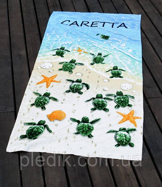 Пляжное полотенце 75х150 Lotus Caretta