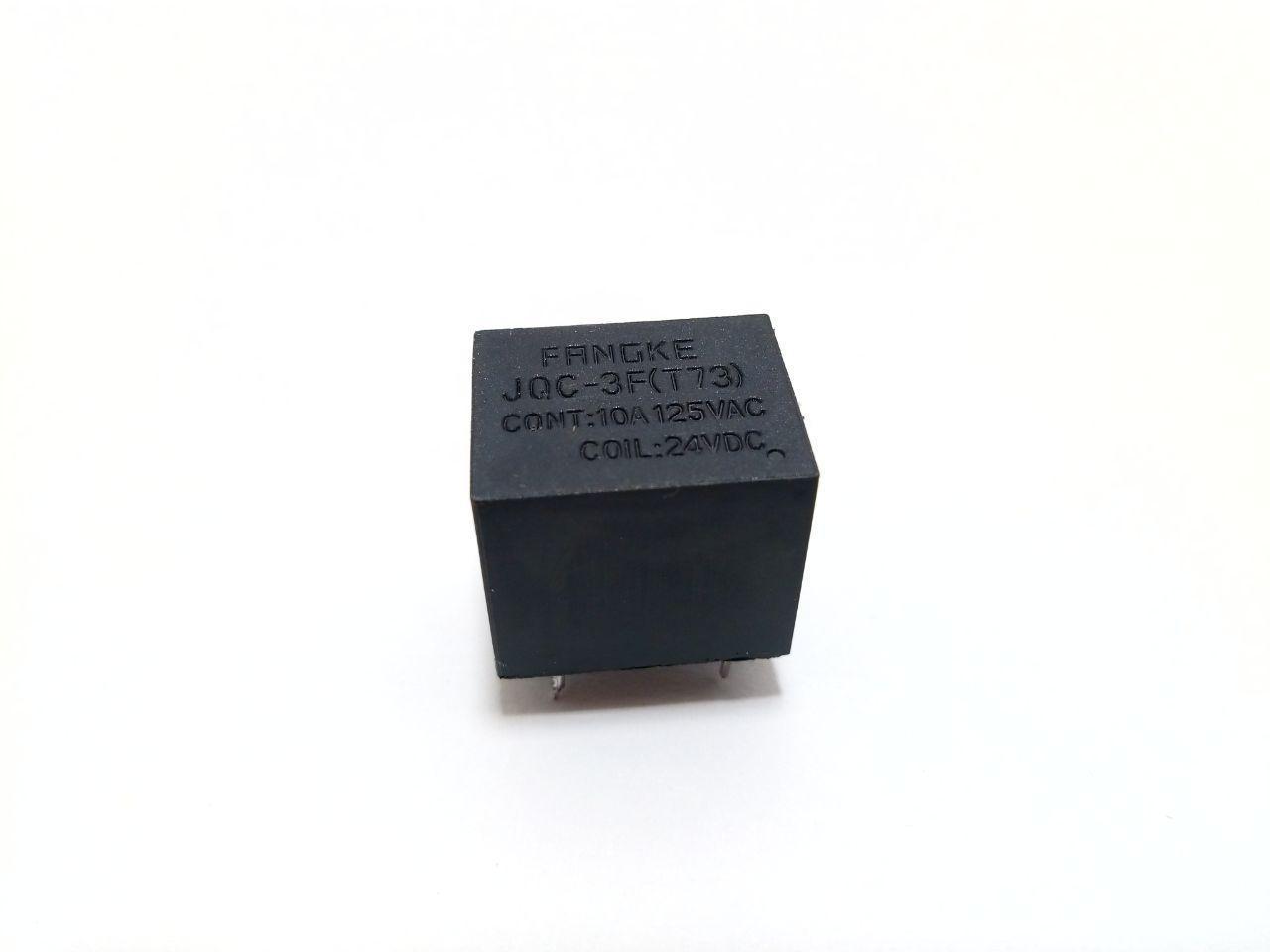 Реле JQC-3F(T73) (24VDC) 10A, контакты 1С