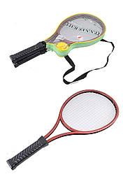 Теннис 2 ракетки + мяч, в чехле 52см /60-2/