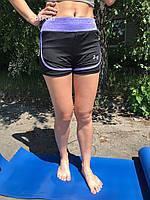 Шорты для фитнеса и йоги лайкра Zelart Under Armour (E307-V)