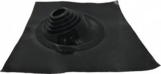 Мастер флеш угловой черный 76-203 мм (проход крыши)