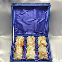 Стаканы из натурального камня Оникс