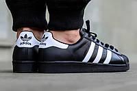 Кроссовки Адидас Суперстар! Топ 2019! Adidas Superstar Black!, фото 1