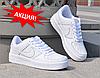Sale 35%! Кроссовки Nike Air Forse Белые и Черные! Top 2019!