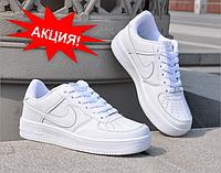 Sale 35%! Кроссовки Nike Air Forse Белые и Черные! Top 2019!, фото 1
