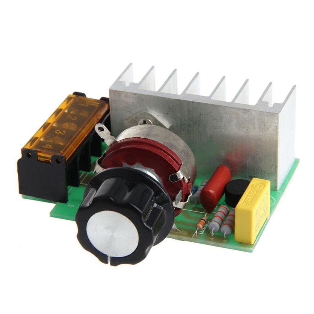 Регулятор мощности AC 4000Вт 220В диммер