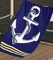 Пляжное полотенце 75х150 Lotus Deep Sea