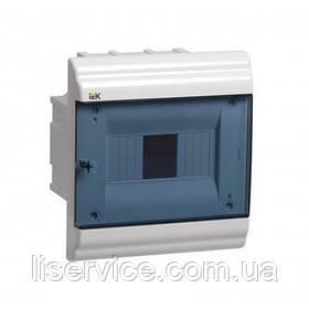 Корпус пластиковый ЩРВ-П- 4 мод. 1ряд внутр. 162x210x102 IP41 PRIME