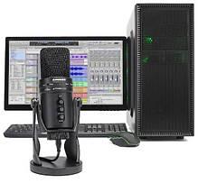 SAMSON G-Track Pro Профессиональный  USB микрофон с аудио интерфейсом, фото 3