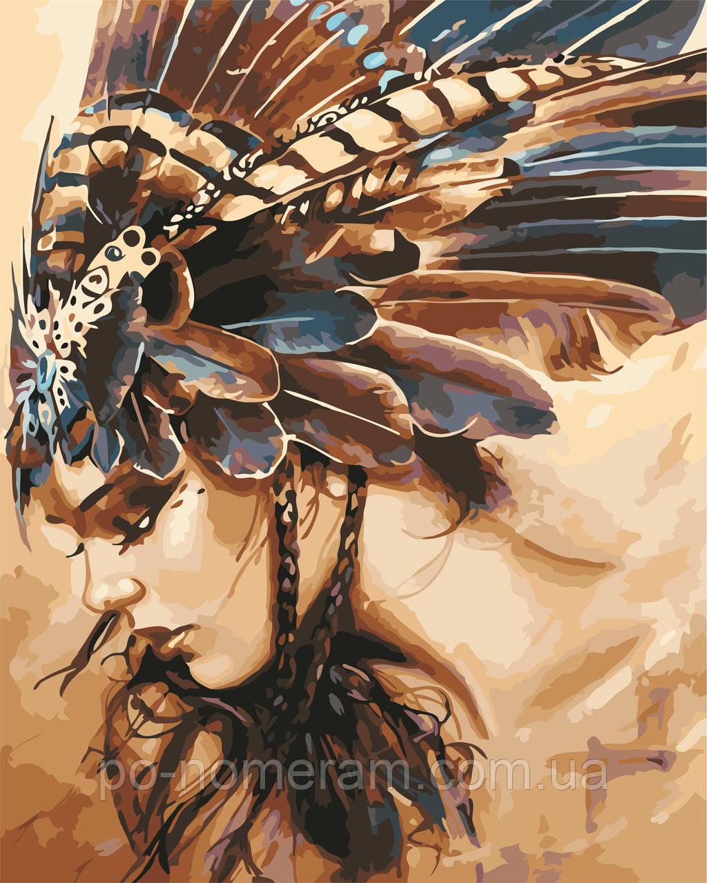Картина по цифрам Охотница (AS0560) 40 х 50 см ArtStory