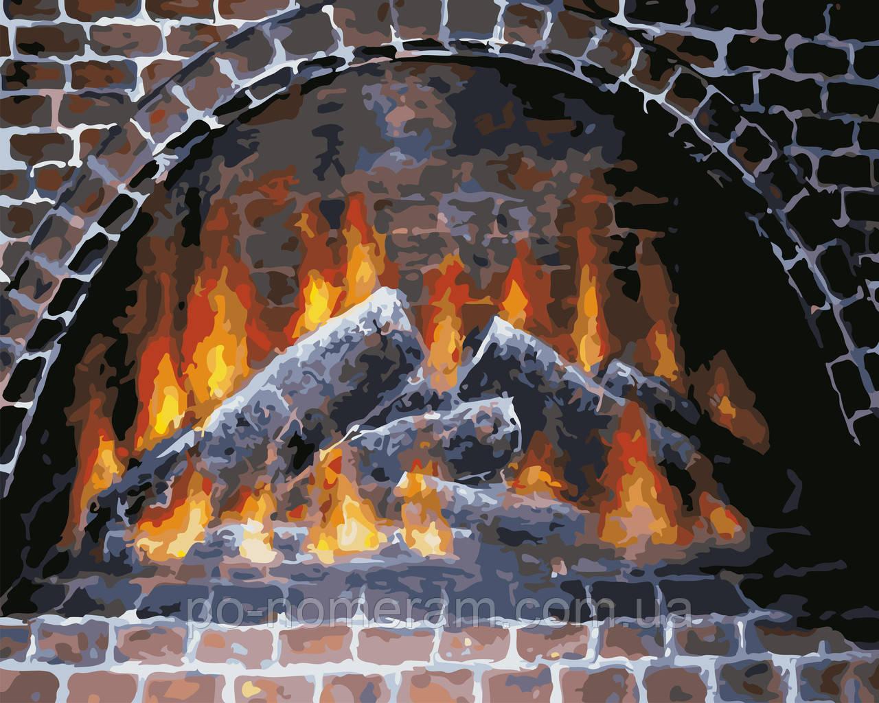 Картина за номерами ArtStory Тепло вогнища (AS0585) 40 х 50 см
