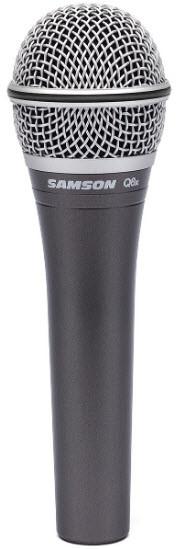 Микрофон динамический вокальный, ручной SAMSON Q8x