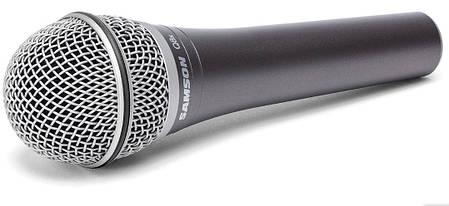 Микрофон динамический вокальный, ручной SAMSON Q8x, фото 2