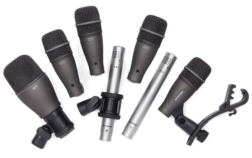 SAMSON DK707 - 7-Piece Drum Mic Kit Набор из 7 микрофонов для барабанов