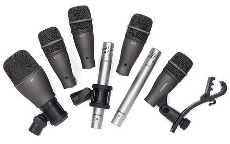 SAMSON DK707 - 7-Piece Drum Mic Kit Набор из 7 микрофонов для барабанов, фото 2