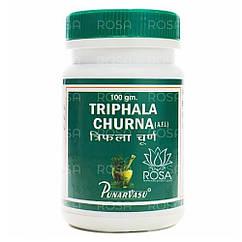 Трифала Порошок (Triphala Churna, Punarvasu), 100 грамм