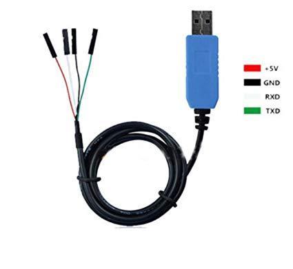 Універсальний USB кабель для ГБО PL2303TA USB TTL RS232