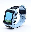 Детские умные часы с GPS Smart watch Q150S Голубые + защитная пленка, фото 3