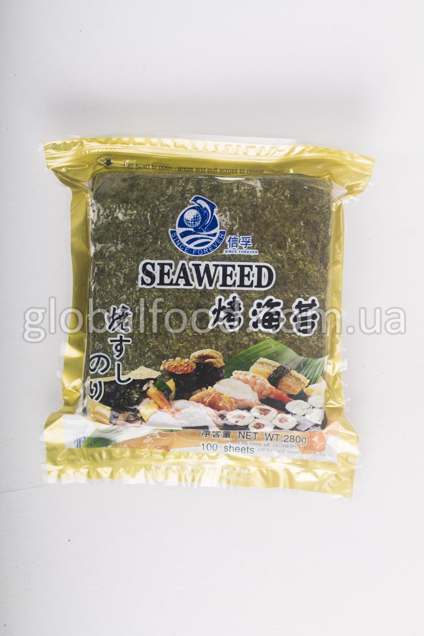 Нори Сухие Водоросли Seaweed  (Gold) (100 листов)