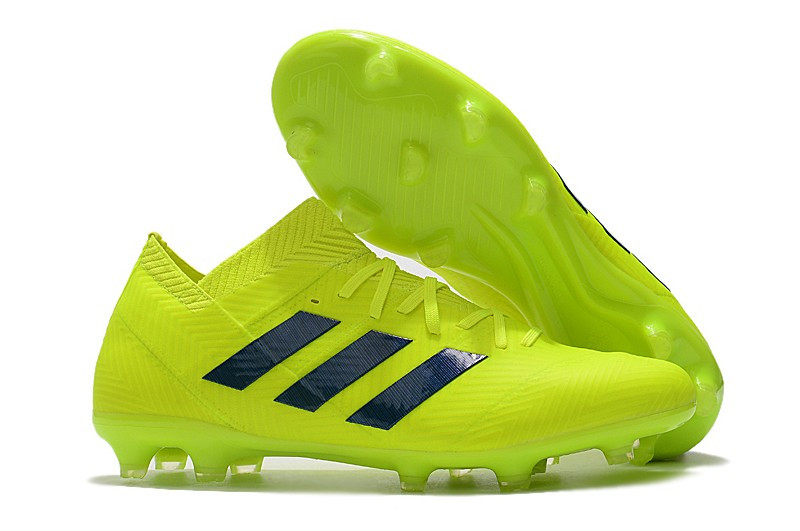 Бутсы adidas Nemeziz 18.1 FG light\green, фото 1