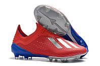Бутсы Adidas X 18.1 FG red