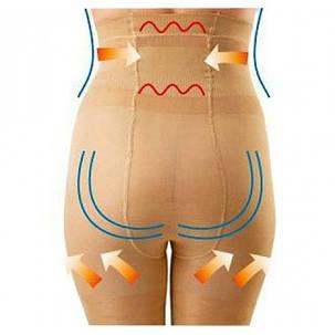 Утягивающие шорты с высокой талией California Beauty Slim N Lift   Белье для коррекции фигуры (Реплика), фото 2