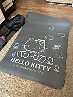 Коврик-Мат для йоги и фитнеса из вспененного каучука Hello Kitty NBR 174х79см + чехол (MS 2608-6)