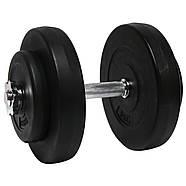 Гантелі розбірні 2х10 кг ORIGINAL-SPORT (Металевий Гриф), фото 3