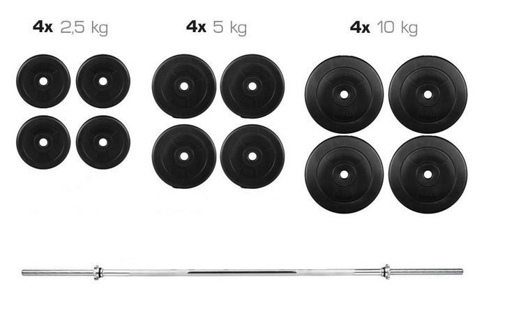 Розбірна Штанга ORIGINAL-SPORT 80 кг