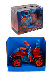 "Квадроцикл ""SPIDERMAN"" в кор. 20,5*17*12см /96-2/"