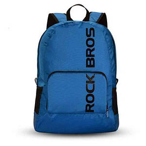 Рюкзак RockBros RB-H10 Водонепроницаемый складной рюкзак для ходьбы и езды на велосипеде Синий