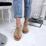 Женские шлепки МОМ на плетенной подошве 1,5 см, очень крутые! ХИТ ЛЕТА 2019, фото 4