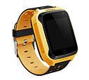 Детские умные часы с GPS Smart watch Q150S Желтые + защитная пленка, фото 3