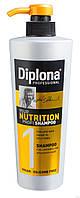 """Шампунь для длинных волос с секущимися кончиками """"Питательный"""" Diplona Professional Nutrition"""
