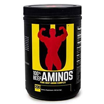 Аминокислоты 100% Beef Aminos (200 tabs) Universal