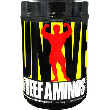 Аминокислоты 100% Beef Aminos (400 tabs) Universal